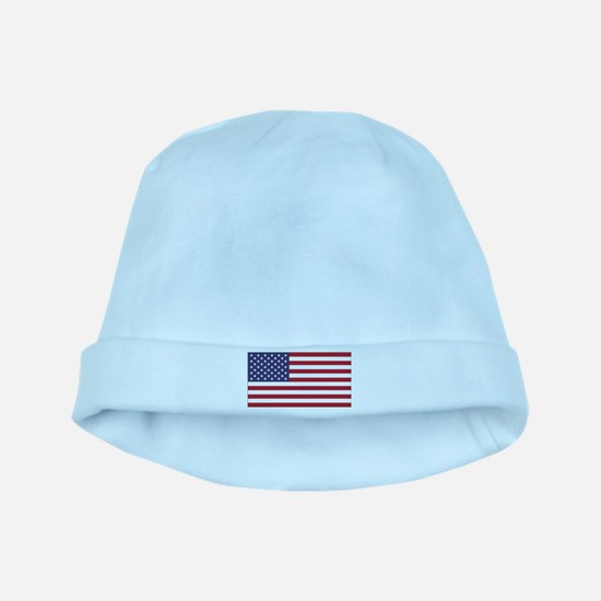 American Flag baby hat