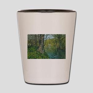 Penrhos ponds Holyhead Shot Glass