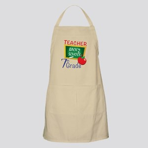 7th Grade Teacher Apron