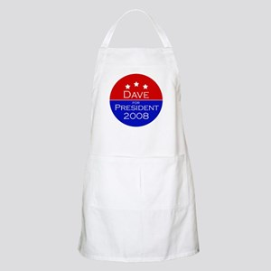 Dave for President BBQ Apron