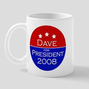 Dave for President Mug