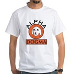 "Alpha Dogma Red Men""s T-Shirt"