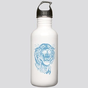 Blue Tiger Graphic Stainless Water Bottle 1.0L