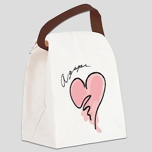 Agape Canvas Lunch Bag