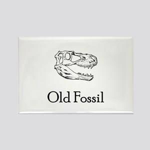 Old Fossil Rectangle Magnet