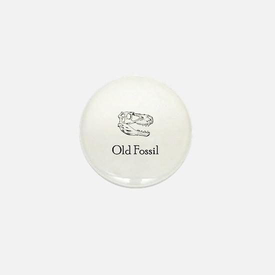 Old Fossil Mini Button