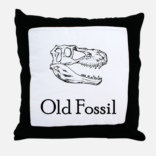 Old Fossil Throw Pillow