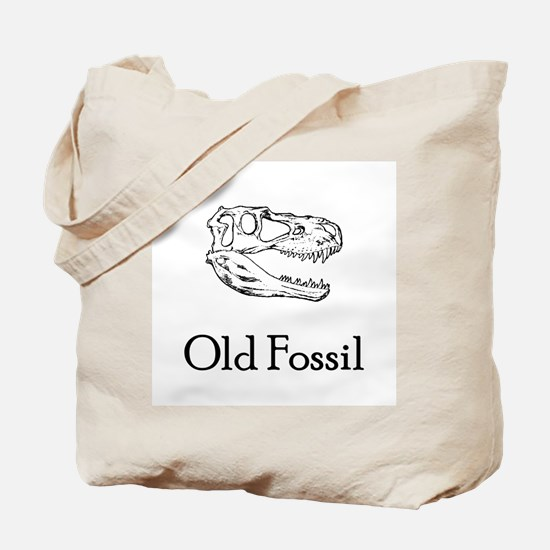 Old Fossil Tote Bag