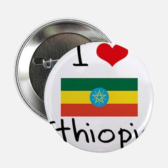 """I HEART ETHIOPIA FLAG 2.25"""" Button"""