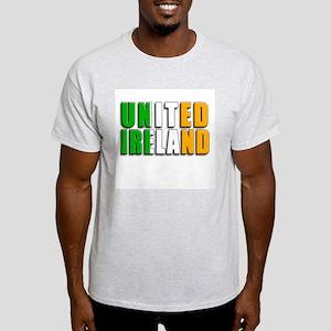United Ireland Ash Grey T-Shirt