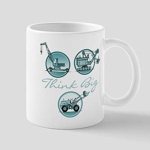 Think Big Construction Vehicles Mug