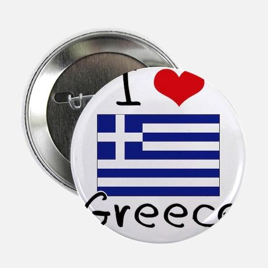"I HEART GREECE FLAG 2.25"" Button"