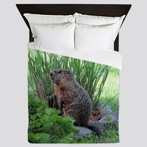 Groundhog Queen Duvet