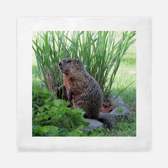 Groundhog Queen Duvet