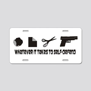 Whatever it Takes Aluminum License Plate