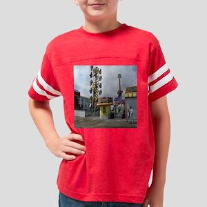 rehoboth beach pixels 4000 Youth Football Shirt