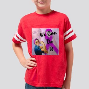 rosie_the_riveter-1 Youth Football Shirt