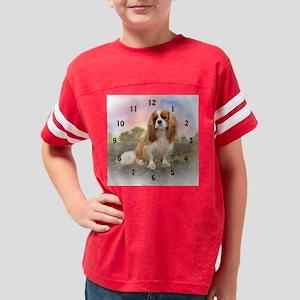 cavalier clock Youth Football Shirt