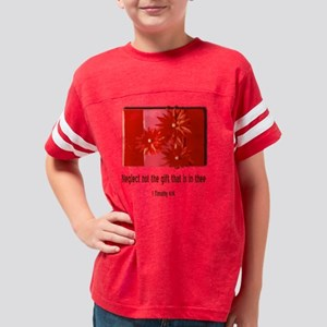Red Gift Youth Football Shirt