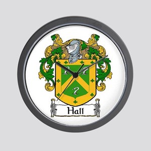 Hall Coat of Arms Wall Clock