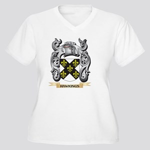 Hawkings Coat of Arms - Family C Plus Size T-Shirt