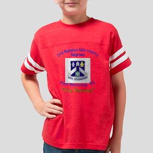 2nd Bn 58th Inf Youth Football Shirt