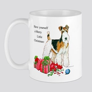 Merry Little Fox Terrier Mug