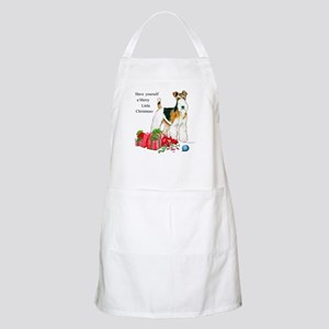 Merry Little Fox Terrier BBQ Apron