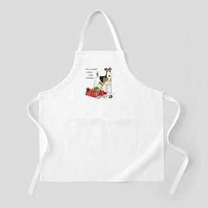 Merry Little Fox Terrier BBQ Apron