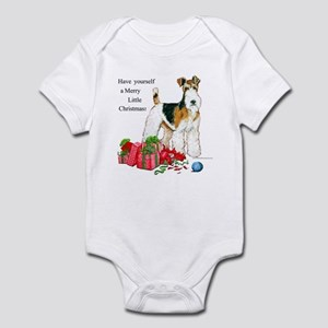 Merry Little Fox Terrier Infant Bodysuit