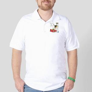 Merry Little Fox Terrier Golf Shirt