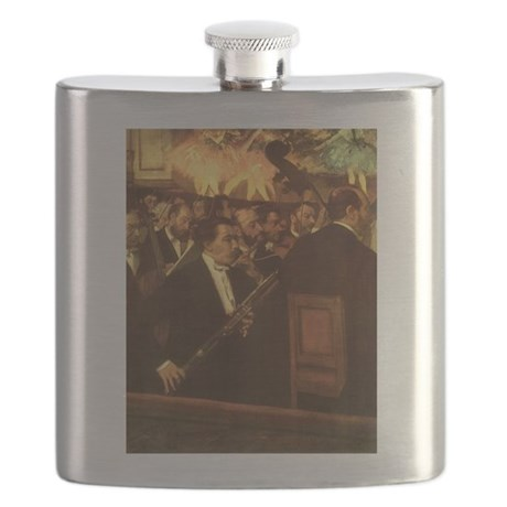 Orchestra of Opera by Degas Flask