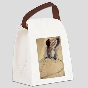 The Dancer by Edgar Degas Canvas Lunch Bag