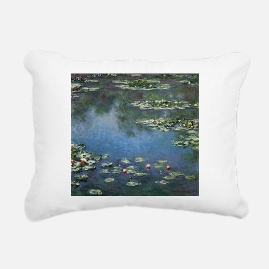 Waterlilies by Claude Monet Rectangular Canvas Pil
