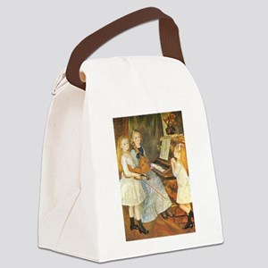 Renoir Daughters of Catulle Mendes Canvas Lunch Ba