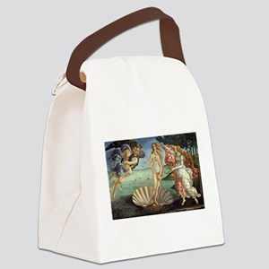 Birth of Venus by Botticelli Canvas Lunch Bag
