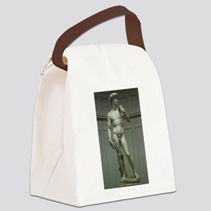 Statue of David by Michelangelo Canvas Lunch Bag