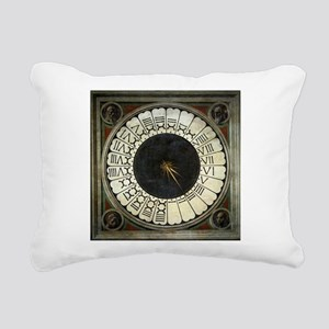 Clock in the Duomo by Uccello Rectangular Canvas P
