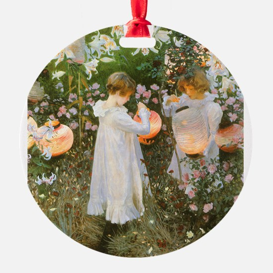 Carnation, Lily, Lily, Rose by Sargent Ornament