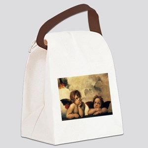 Angels by Raphael Canvas Lunch Bag