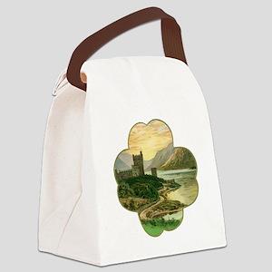 Vintage Saint Patrick's Day Canvas Lunch Bag