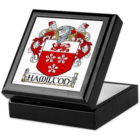 Hamilton Coat of Arms Keepsake Box