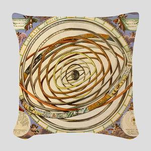 Vintage Celestial, Planetary Orbits Woven Throw Pi