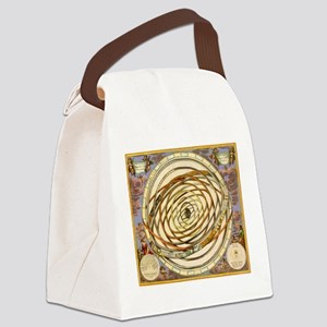 Vintage Celestial, Planetary Orbits Canvas Lunch B