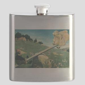 Vintage Nursery Rhymes Flask