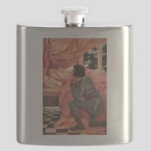 Vintage Sleeping Beauty Flask