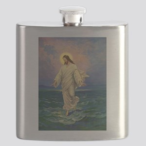 Vintage Jesus Christ Flask