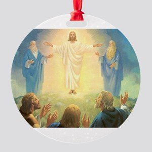 Vintage Jesus Christ Round Ornament