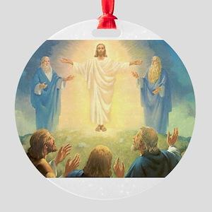 Vintage Jesus Christ Round Ornament