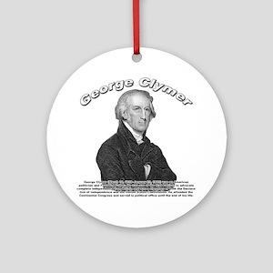 George Clymer 02 Ornament (Round)